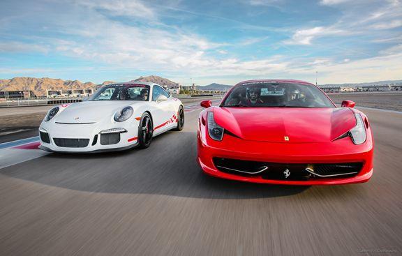 race an exotic car