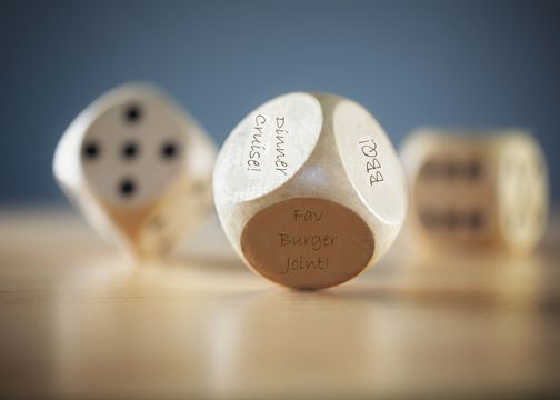 30 Dinner Dice Fun Birthday Gifts For Your Special Man