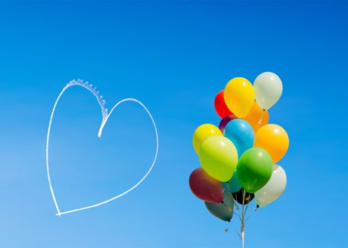 romantic birthday ideas - flying experiences - Cloud 9 Living