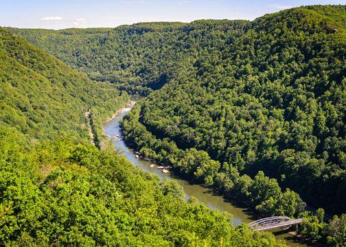 beautiful US white water rafting rivers