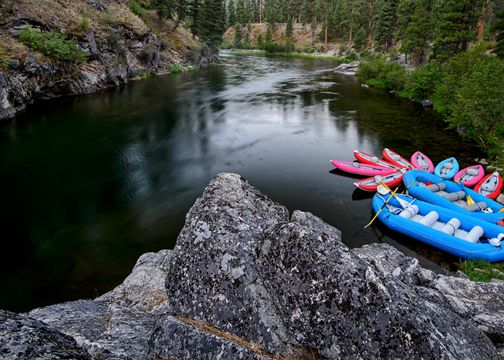 Idaho white water rafting destinations in the US