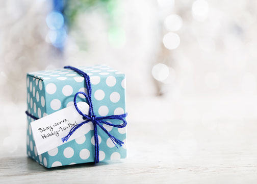 creative wedding day gift for your groom