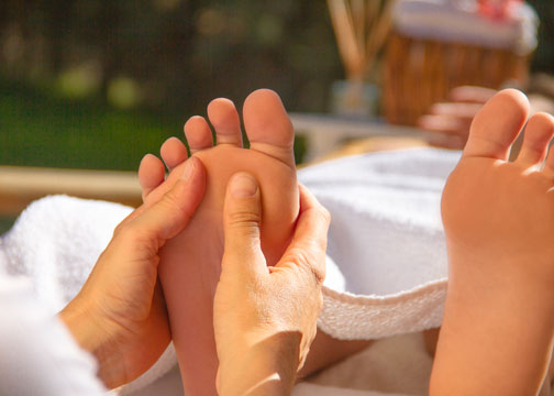 shower before massage - spa tips