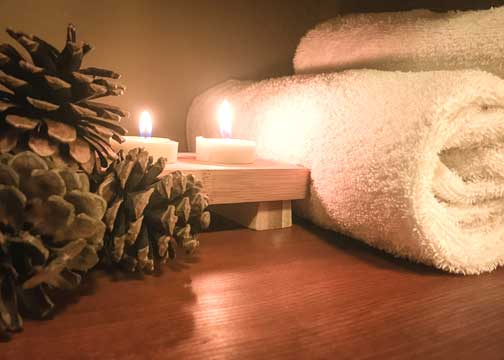 spa tips - shared space