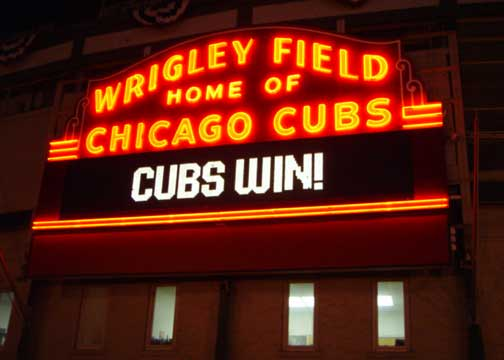 Wrigley - most haunted places in Chicago