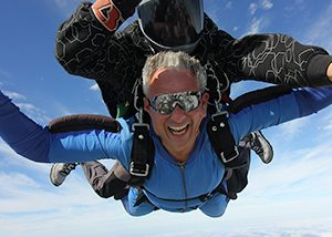 Skydiving Gift Certificates make great summer birthday gifts